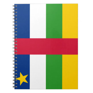 Central-African Republic Flag Notebook