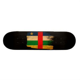 Central African Republic Flag Custom Skateboard
