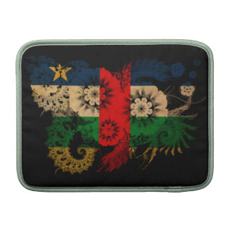Central African Republic Flag Sleeves For MacBook Air