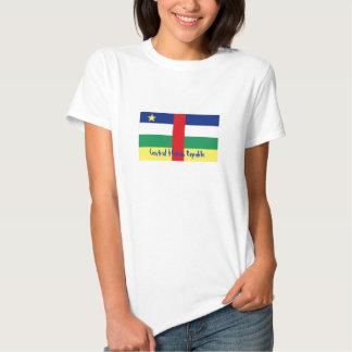Central African Republic flag souvenir tshirt