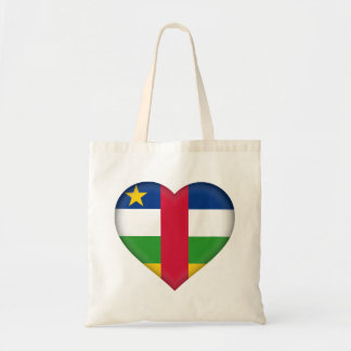 Central-African Republic Flag Tote Bag