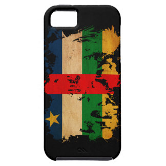 Central African Republic Flag Tough iPhone 5 Case