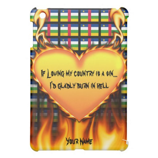 central african republic If loving my country iPad Mini Cover