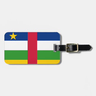 Central African Republic National World Flag Luggage Tag