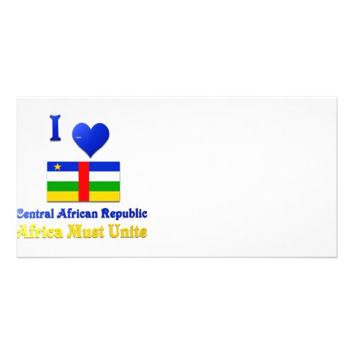 Central African Republic Photo Greeting Card