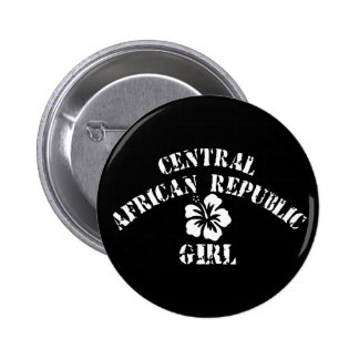 Central African Republic Pink Girl Buttons
