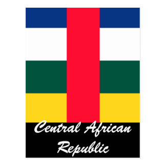 Central African Republic Postcard