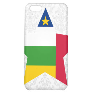 Central+African+Republic Star Cover For iPhone 5C