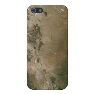 Central and western United States iPhone 5/5S Cover