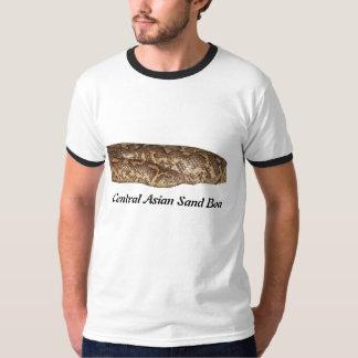 Central Asian Sand Boa Ringer T-Shirt
