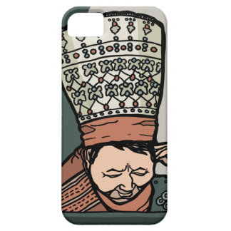 Central Asian Woman Thinking (in hat) Case For The iPhone 5