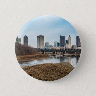 Central Business District Columbus, Ohio 6 Cm Round Badge