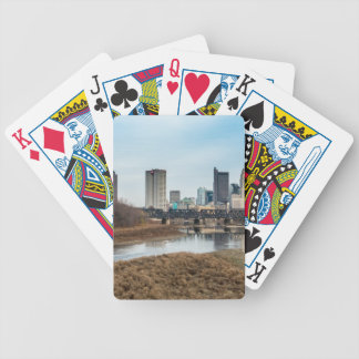 Central Business District Columbus, Ohio Bicycle Playing Cards