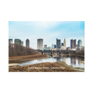 Central Business District Columbus, Ohio Canvas Print