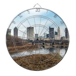Central Business District Columbus, Ohio Dartboard