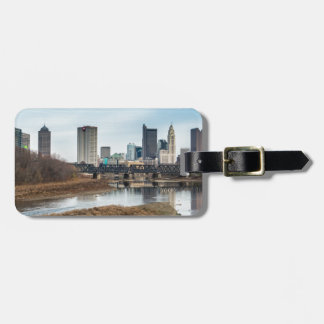 Central Business District Columbus, Ohio Luggage Tag