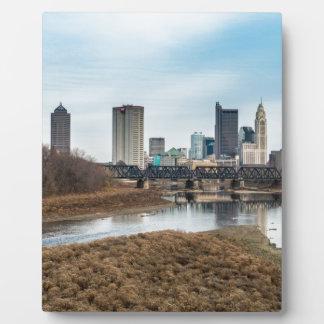 Central Business District Columbus, Ohio Plaque