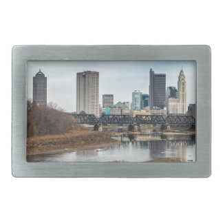 Central Business District Columbus, Ohio Rectangular Belt Buckle
