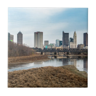 Central Business District Columbus, Ohio Tile