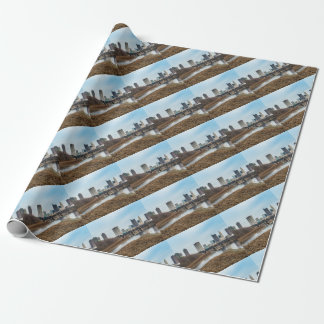 Central Business District Columbus, Ohio Wrapping Paper
