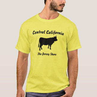 Central California, The Jersey Shore T-Shirt