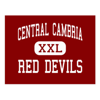 Central Cambria - Red Devils - High - Ebensburg Postcard