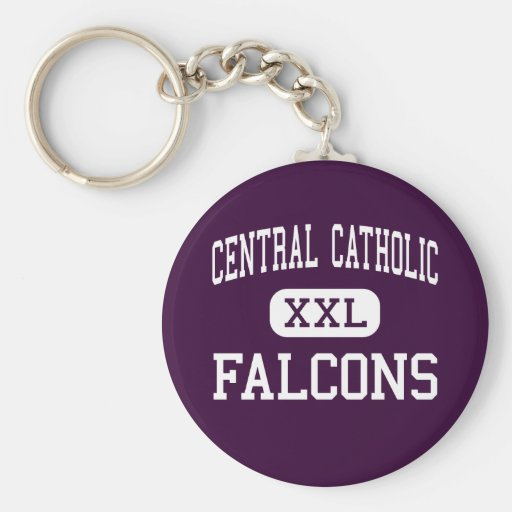 Central Catholic - Falcons - High - Taos Key Chain