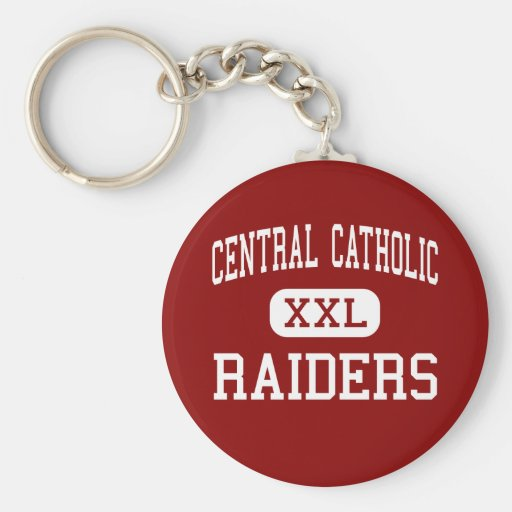 Central Catholic - Raiders - High - Lawrence Keychain