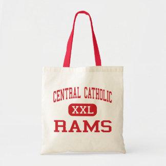Central Catholic - Rams - High - Portland Oregon Budget Tote Bag