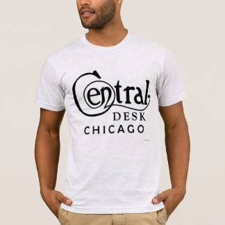 Central Desk Vintage Chicago T-Shirt (Black Logo)