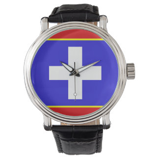 central greece flag country region symbol watch