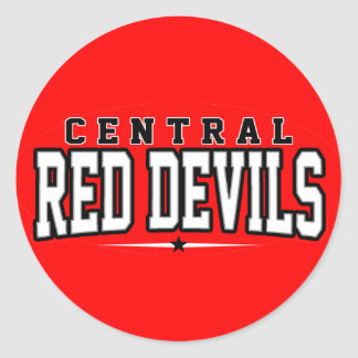 Central High School; Red Devils Stickers