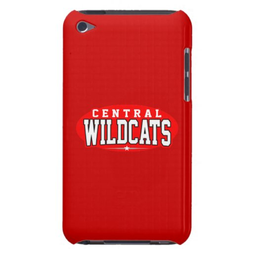 Central High School; Wildcats Barely There iPod Cases