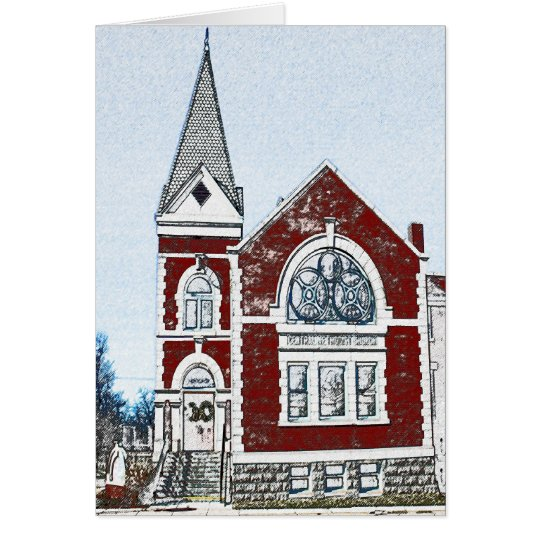 Central Methodist Church - Rogers, AR Card