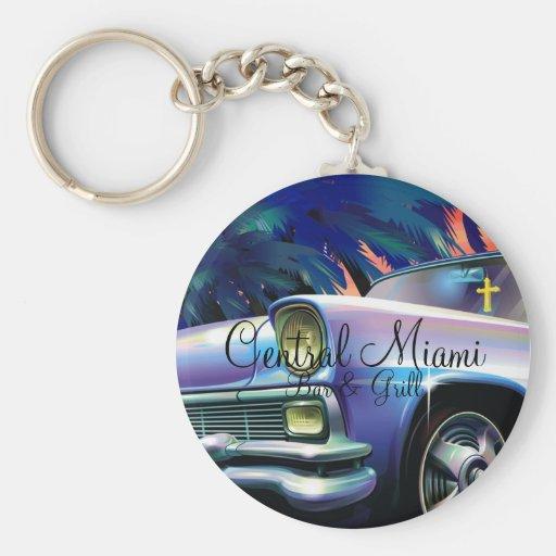 Central Miami Bar & Grill Key Chain