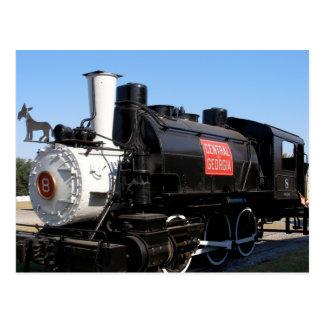 Central of Georgia Railroad Train Photo Postcard