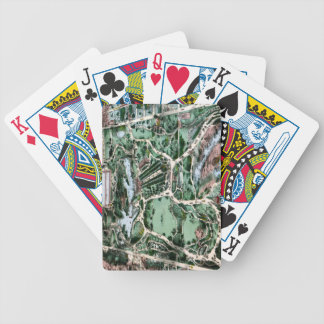 CENTRAL PARK, 1860 BICYCLE PLAYING CARDS