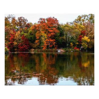 Central Park Autumn Fall Landscape Photo
