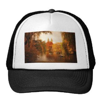 Central Park Autumn Romance Mesh Hats