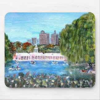 Central Park Boat House Mouse Pad