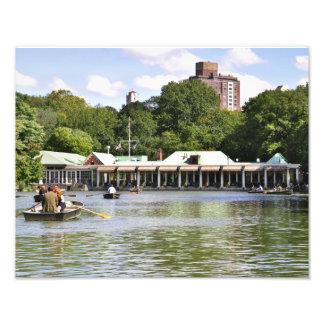 Central Park Boathouse Photo Art