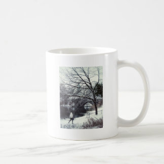 Central Park Bridge On A Blustery Day Coffee Mug