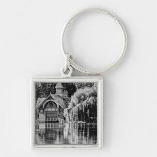 Central Park Building Key Chain