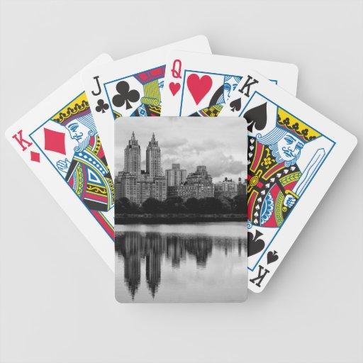 Central Park Building Landscape Photo Card Decks