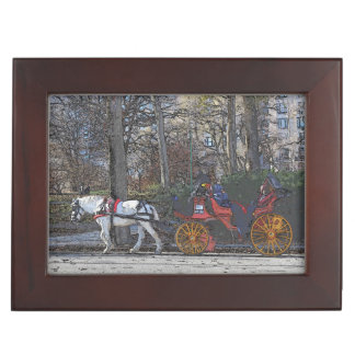 Central Park Carriage Ride Keepsake Keepsake Box