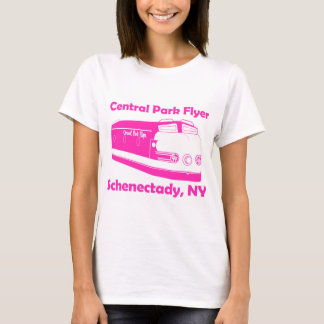 Central Park Flyer train from Schenectady T-Shirt