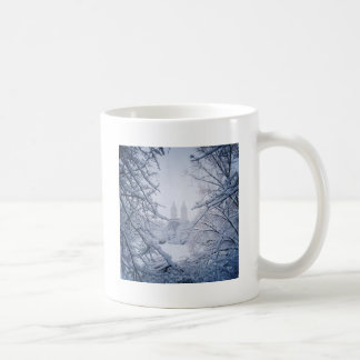 Central Park Framed In Snow and Ice Coffee Mug