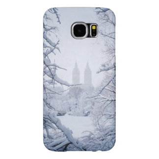 Central Park Framed In Snow and Ice Samsung Galaxy S6 Cases