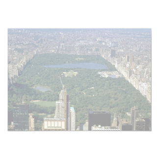 Central Park from the south, New York City, USA Custom Invitations