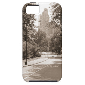 Central Park in New York City during the summer. iPhone 5 Case